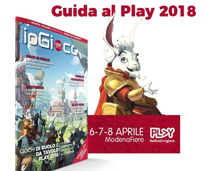 Guida Play 2018 Modena: ioGioco c'è!