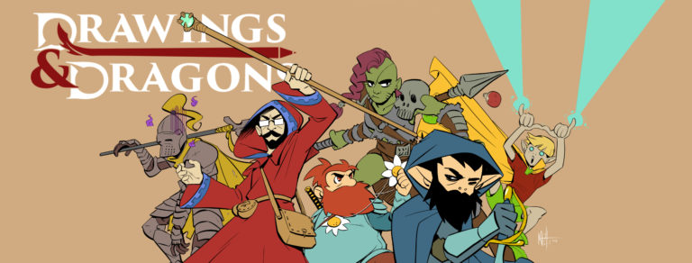 Drawings & Dragons – Il nuovo evento live streaming di D&D