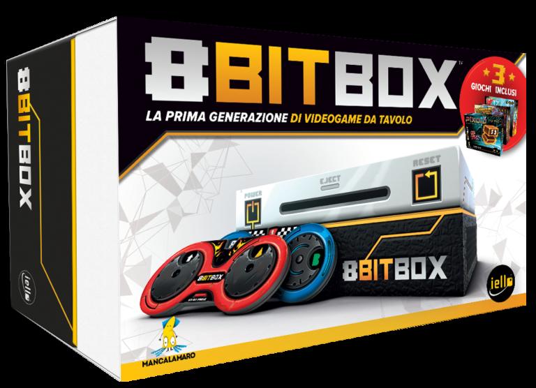 """8Bit box: 3 carte in regalo con ioGioco per """"truccare"""" le vostre partite"""