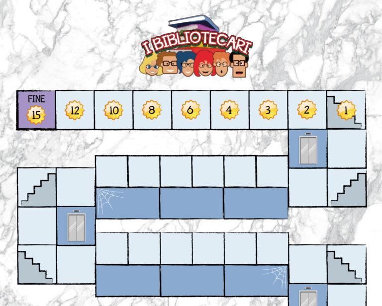 I Bibliotecari: gioco da 2 a 6 giocatori allegato a ioGioco 8