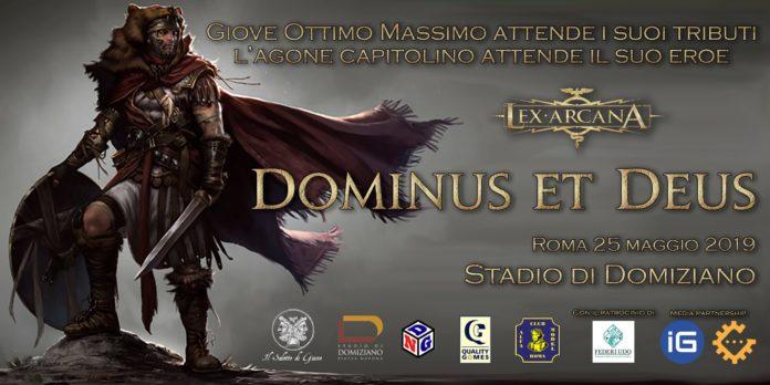 Locandina Dominus et Deus