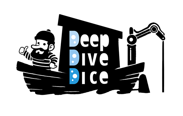 logo deep dive dice