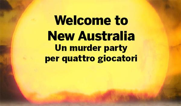Welcome New Australia