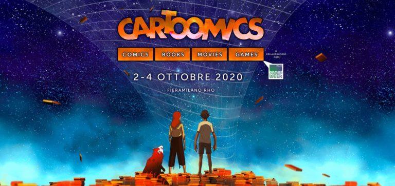 Cartoomics a ottobre con Milan Games Week!