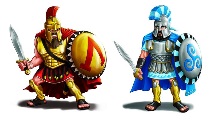 Ares vs Athena iG16