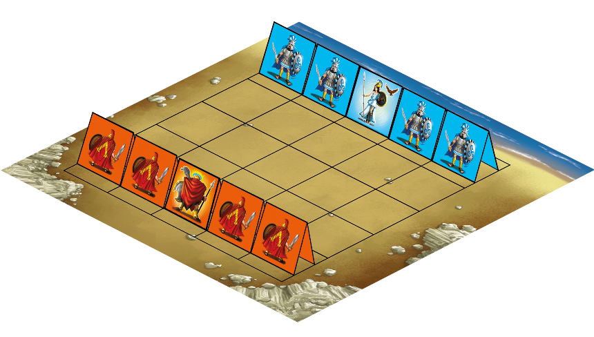 Ares Vs Athena - Plancia di gioco