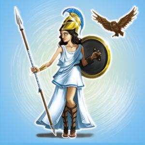 Ares vs Athena Athena