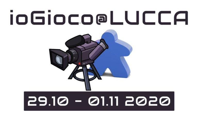 ioGioco@Lucca – Quattro giorni di gioco sui vostri schermi