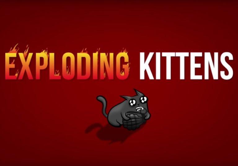 Exploding Kittens – Versione per 2 giocatori in regalo con ioGioco 19