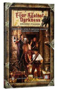 Four Against Darkness - Copertina