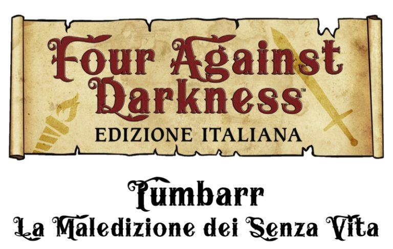 L'avventura per Four Against Darkness di ioGioco disponibile in digitale